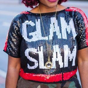 Tops - Sequin Glam Slam top